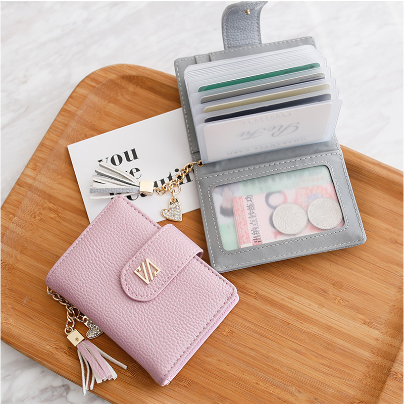 Women card holders fashion tassel hanging credit card wallet brand women card holders fashion tassel hanging credit card wallet brand women business card holder 20 card slots pu leather in card id holders from luggage reheart Gallery
