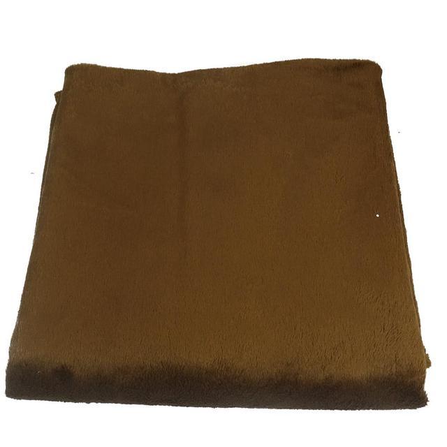 Promocional fornecimento de Baixa potência suave plush Warmer xaile cobertor colo elétrica Bateria Externa