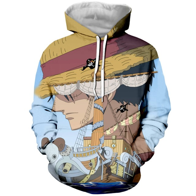 Anime One Piece Hoodies 3D Print