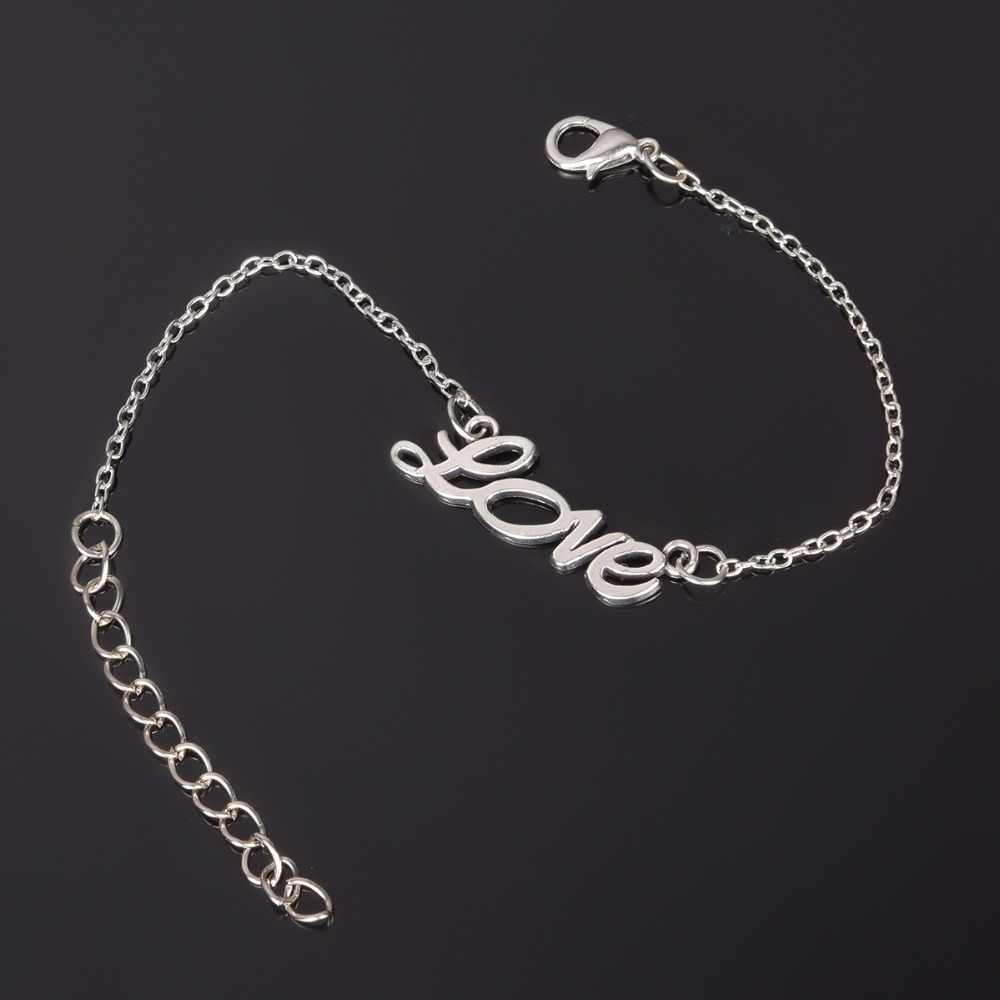Simple Style Silver Plated Charm Bracelet Jewelry Gift Wedding Banquet Wholesale Top Quality