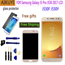 J530 lcd For SAMSUNG Galaxy J5 Pro 2017 J530 J530F SM-J530F LCD Display Touch Screen Digitizer for samsung j5 pro 5.2'' inch LCD цены онлайн