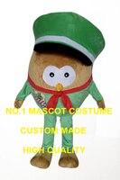 Зеленая шляпа сова костюм талисмана взрослый размер мультфильм сова стиль индивидуальные аниме косплей костюмы карнавал fancy dress костюмы ко...