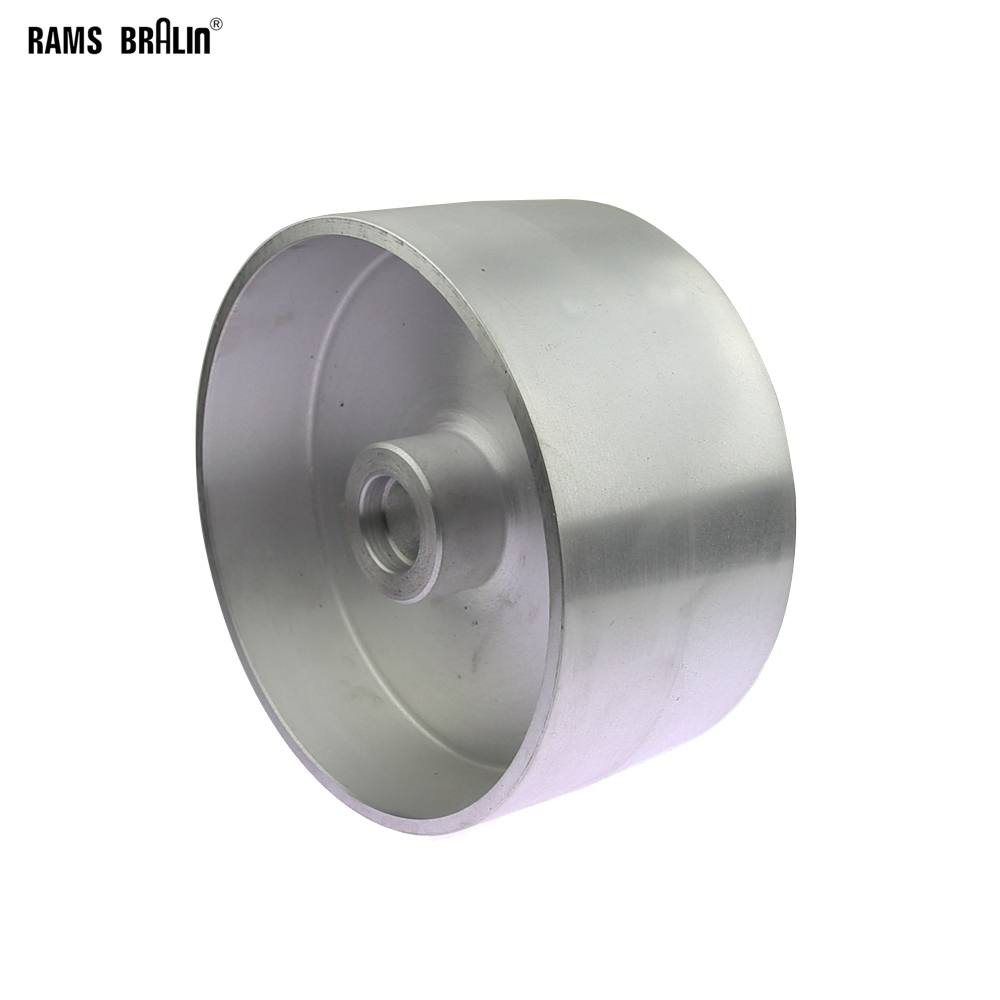 200*100mm Fully Aluminum Contact Wheel Belt Grinder Parts