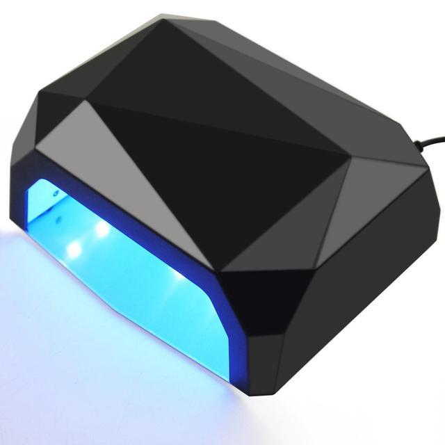 COSCELIA 36/80 W מנורת 12/15 pcs נוריות נייל מייבש עבור כל סוגי ג 'ל Curing10/30 /60/99 s מנורת עבור מניקור