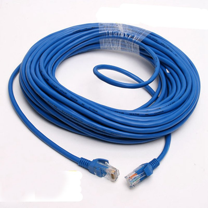 Network Cable 50 Feet RJ45 CAT5 CAT5E Network Ethernet LAN Network Cable for Computer 15M
