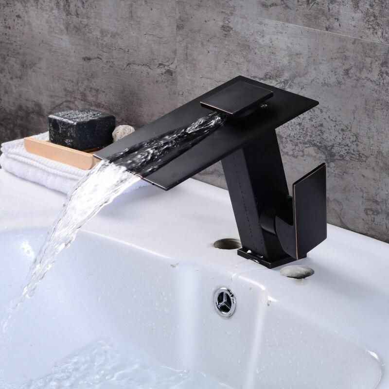 Смеситель для ванной комнаты BECOLA, хромированный и черный, с насадкой на раковину, инновационный, матовый, никелевый, LT-5656C