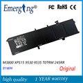 11 1 В 91WH новый оригинальный аккумулятор для ноутбука Dell M3800 XPS15 9530 9535 T0TRM 245RR