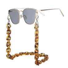 1pcs 60cm Sunglasses Lanyard Amber Strap Necklace Acrylic Eyeglass Glasses Chain Cord For Reading 8 Colors L3