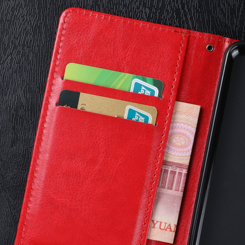 QIJUN Brand Luxury Retro PU Leather Flip Wallet Cover For Elephone P8000 P9000 Lite S2 S3 C1 M2 R9 Stand Card Slot Fundas in Flip Cases from Cellphones Telecommunications