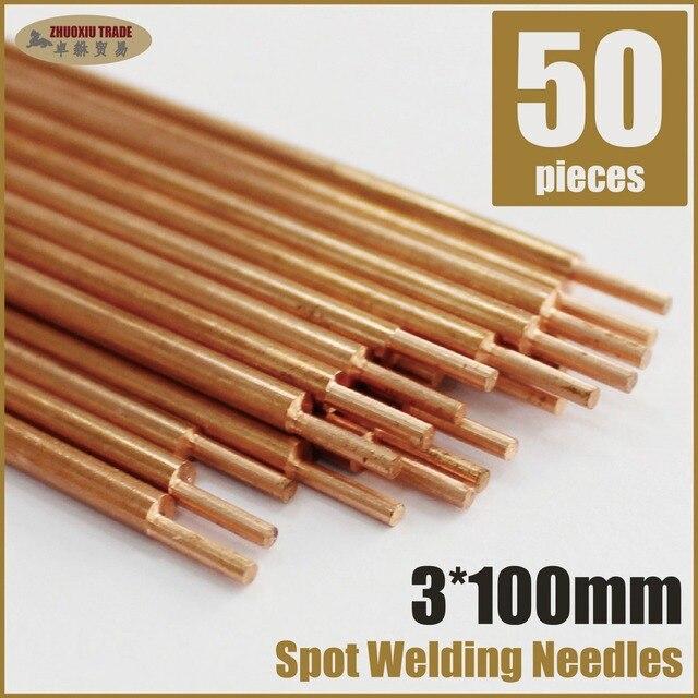 50 pieces aluminium two head spot welding rods needles electrodes 50 pieces aluminium two head spot welding rods needles electrodes tip welding solder pin sciox Gallery