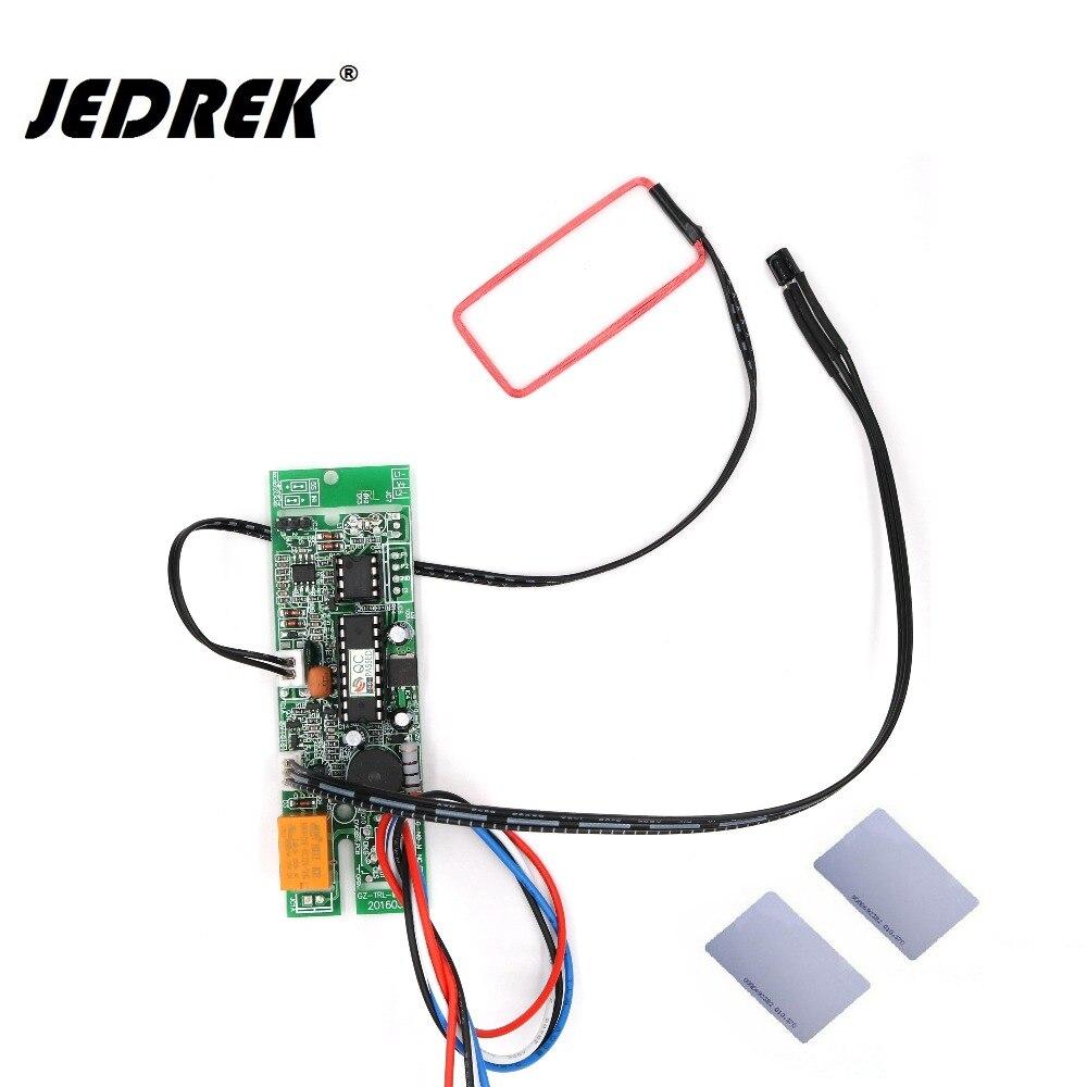 125 khz rfid placa embutida identificação de proximidade intercom módulo porta saída relé sistema controle acesso