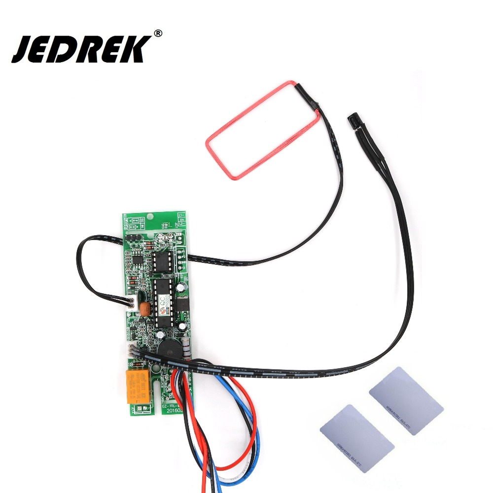 125Khz RFID Embedded board Proximity ID intercom module Relay Output Door Access Control System rfid intercom embedded access control 13 56mhz ic module controller 2000 user