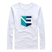 2016 Men World Cup Team europe T-Shirt Long Sleeve Tee 100% Cotton Tshirt  Ice Hockeyes T SHIRT Mens Fashion