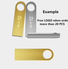 Customer LOGO Gold/Silver pen driver 4gb 8gb usb flash drive 16gb 32gb 64gb usb pendrive mini usb memory stick usb disk Gift(China)