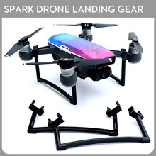2pieces/set SPARK Drone Landing Gear Foot Extended Stand Heighten Protector Frame holder for DJI Spark Drone