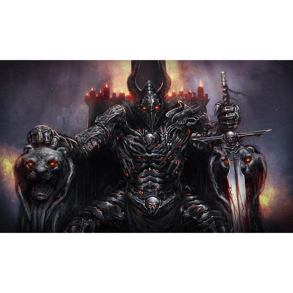 Best Quality 2mm Thick Table Pad Game WOW Lucifer Playmat
