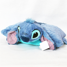 Lilo and Stitch Plush toys doll Pillow Folded Cushions Stuffed Animals Soft Toys for Children Kids birthday gift Car Decoratio