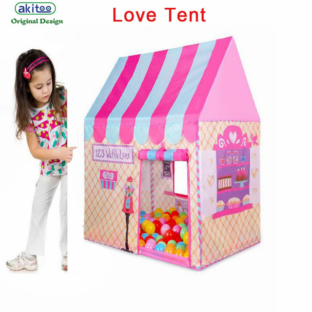 New Arrival Princess Tent Outdoor Portable Gaming House Girl Home Large Castle Real Toy House Teepee  sc 1 st  AliExpress.com & New Arrival Princess Tent Outdoor Portable Gaming House Girl Home ...