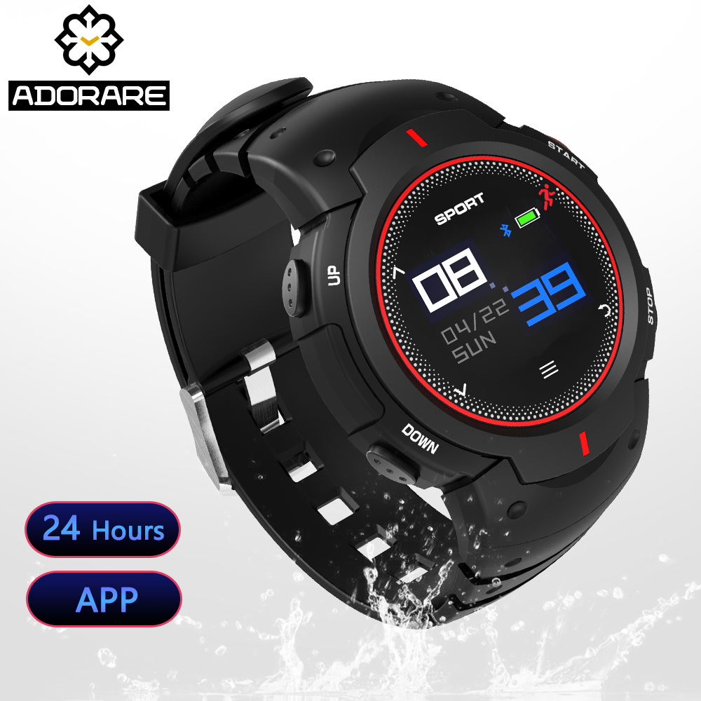 ADORARE Smart Watch Men Women Fitness tracker Heart Rate Monitor Multi-sport mode Bluetooth Sport Smartwatch For IOS Android itormis bluetooth gps smart watch smartwatch sim card phone watch fitness heart rate tracker multi sport mode for android ios