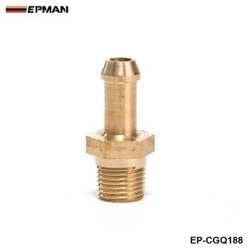 "Compresor de turbocompresor de latón Boost pezón Garrett T2 T25 T28 T3 T34 Turbo 1/8 ""macho NPT EP-CGQ188"