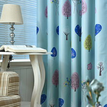 Children's Room Curtains Cartoon Full Shading Printing Curtains for Living Dining Room Bedroom(China)