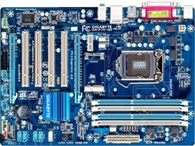 original GA-P75-D3 D3P 100% motherboard LGA 1155 DDR3 32GB Desktop motherboard P75-D3 mainboard 22 32 nm