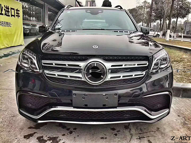Plastic Tuning Body Kit For Mercedes Benz Gls W166 2016 2017 Amg