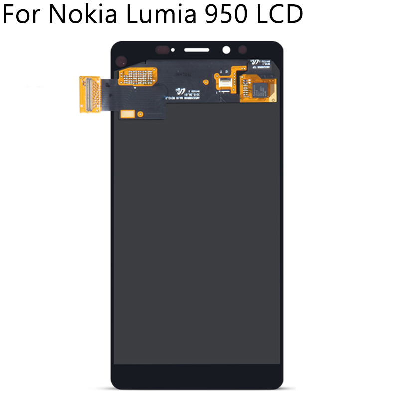 """Image 4 - 5.2"""" Tested For Nokia Lumia 950 RM 1104 1106 1118 LCD Display Touch Screen With Frame Digitizer Assembly Replacement Free Tools-in Mobile Phone LCD Screens from Cellphones & Telecommunications"""