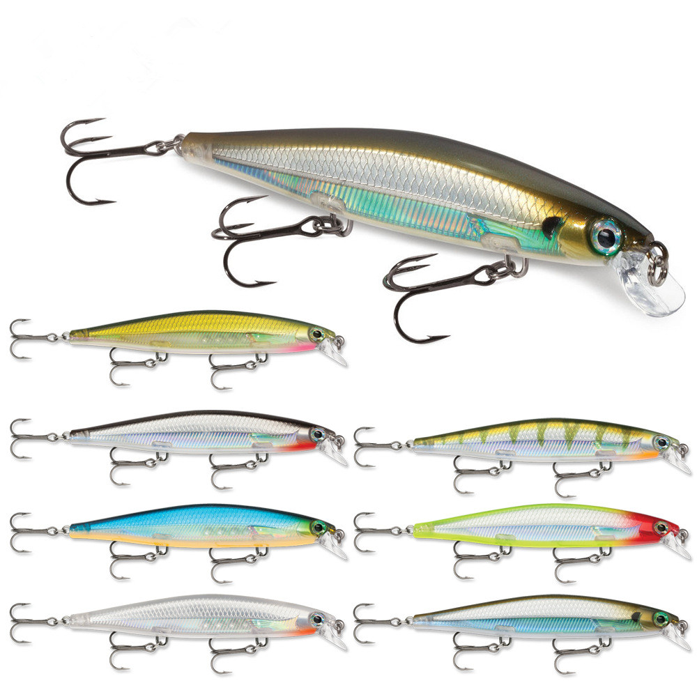 Sinking Slowly Floating Fishing Lure Minnow Bait 11cm 13g Fishing Wobbler Quality Bass Pike Baits 1 Pcs/Lot allblue slugger 65sp professional 3d shad fishing lure 65mm 6 5g suspend wobbler minnow 0 5 1 2m bass pike bait fishing tackle