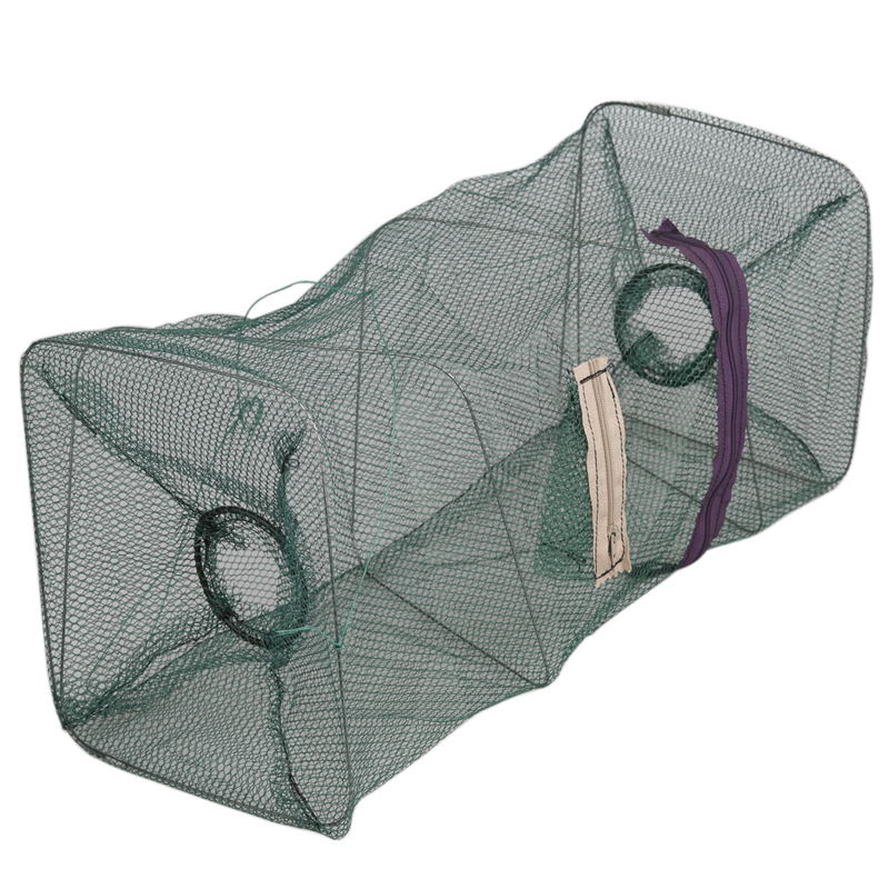 Hot-Sale-Fishing-net-Mesh-Trap-Shrimp-Traps-Foldable-Crab-Fish-Crawdad-Shrimp-Minnow-Fishing-Bait (5)