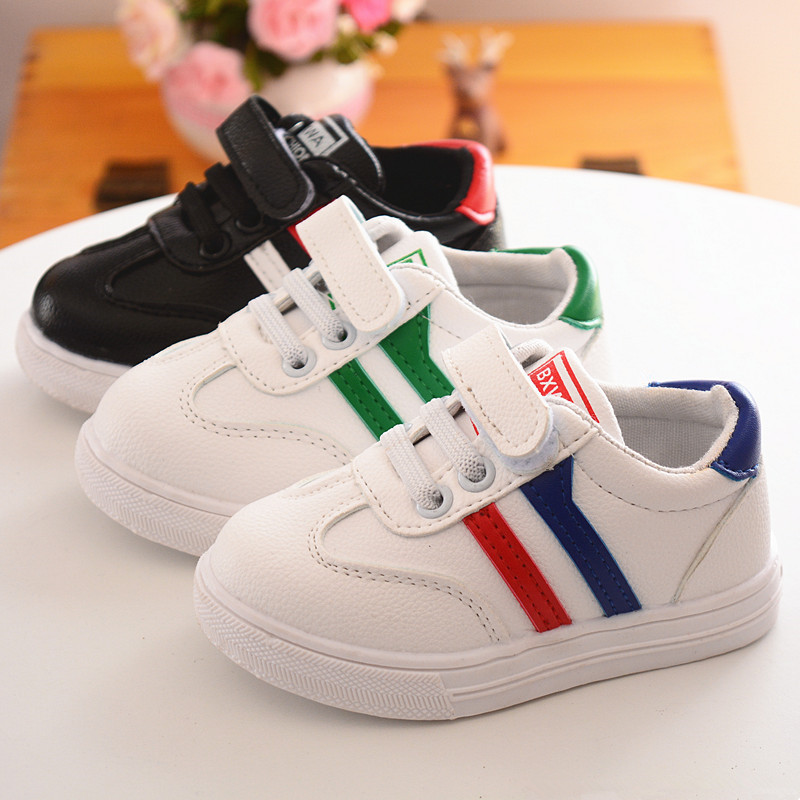 2018 European Simple cute pure colorful kids shoes hot sales baby girls boys shoes high quality light baby children sneakers