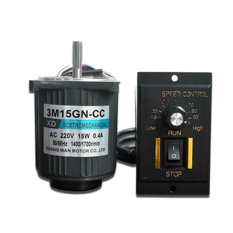 220V AC motor 15W speed motor 1400rpm/ 2800 rpmhigh speed micro single phase reversing small motor