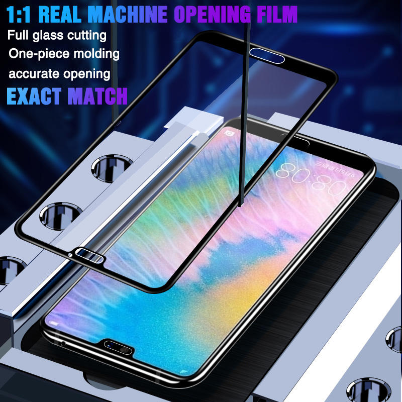 Image 4 - 35D Protective Glass For Huawei P20 Lite Pro P30 P10 Lite Tempered Glass For Huawei Honor 9 Lite 10 V10 Screen Protector Film-in Phone Screen Protectors from Cellphones & Telecommunications