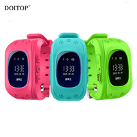 DOITOP Children Anti Lost Kids GPS Location Tracker Finder Smart Watch SOS Call SMS Child GPS