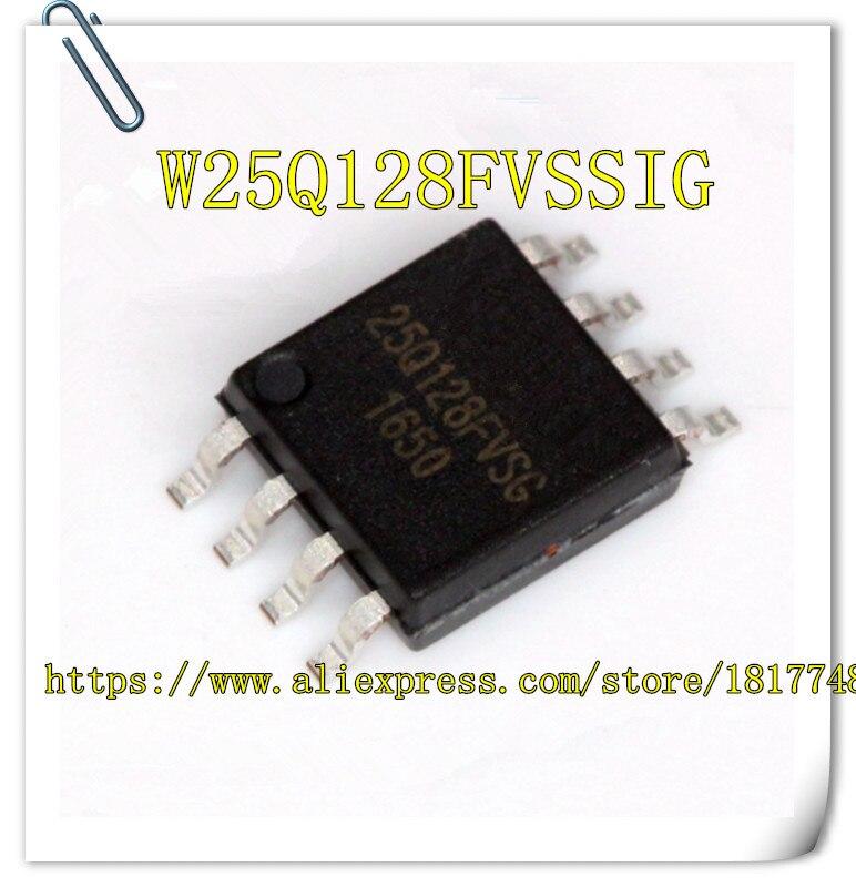 1PCS W25Q128FVSSIG W25Q128FVSG W25Q128FVSIG W25Q128 WINBOND SOP-8