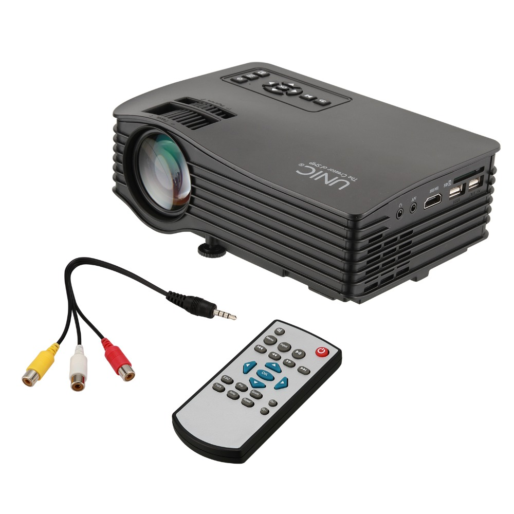 Nuevo tipo unic uc36 au/eu/uk/ee.uu. wifi dlp mini pico láser led proyector de c
