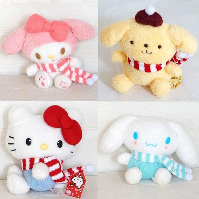 18 36cm Hello Kitty My Melody Big Ears Cinnamoroll Dog Pudding Dog Japanese  Anime Toys 1f3cd169a54fd