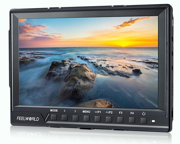 New Arrival FW760 7 Inch IPS Full HD 1920x1200 1200:1 Contrast On Camera Field Monitor with Magic Arm Kit