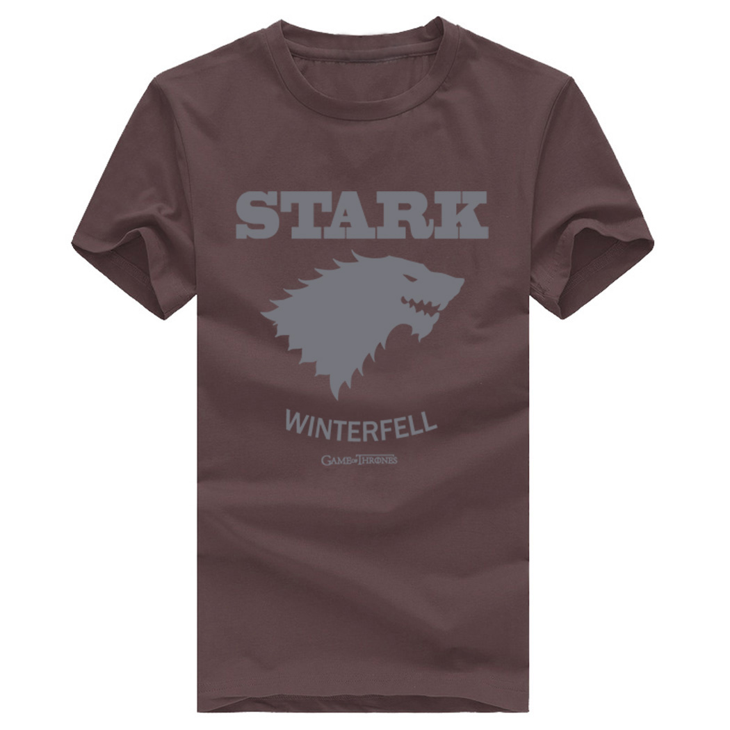 men fashion Game of Thrones camisetas 2019 Game of thrones t-shirts summer cotton short sleeve top clothing plus size S-3XL tops