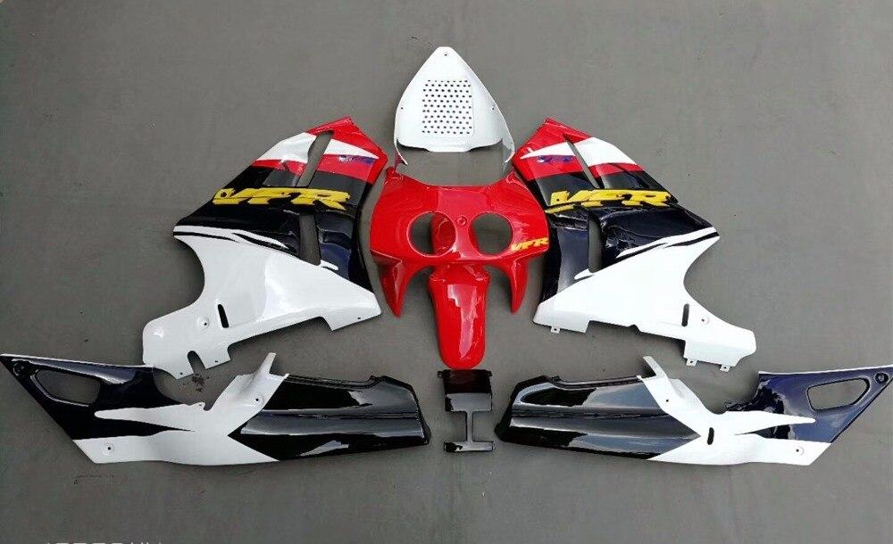 Motorcycle Injection Mold Fairing For Honda VFR400 VFR400R NC30 1989 1990 1991 1992 VFR 400 R Bodywork Kit Fairings UV Painted