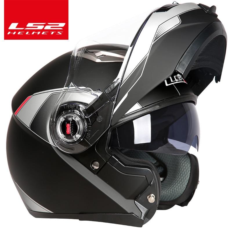capacete ls2 ff370 Мотоцикл дулыға casco de moto - Мотоцикл аксессуарлары мен бөлшектер - фото 3