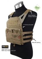 TMC Jump Plate Carrier JPC Vest JPC Combat Vest Matte Coyote Brown Color(SKU050471)