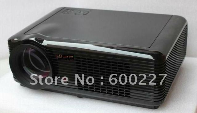 3D LED  projector with free 3D glasses and disc in Cheap price