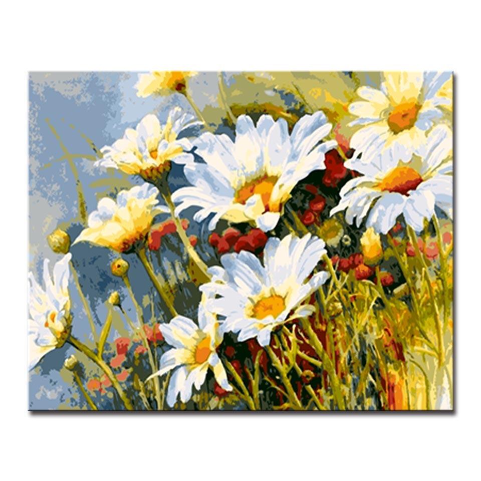 Luxury Gerber Daisy Wall Art Ensign - The Wall Art Decorations ...