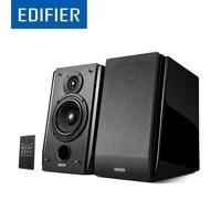 EDIFIER R1850DB Bluetooth Speaker Multifunctional Bookshelf Subwoofer 2 0 Bluetooth 4 0 Speaker Support Remote Control