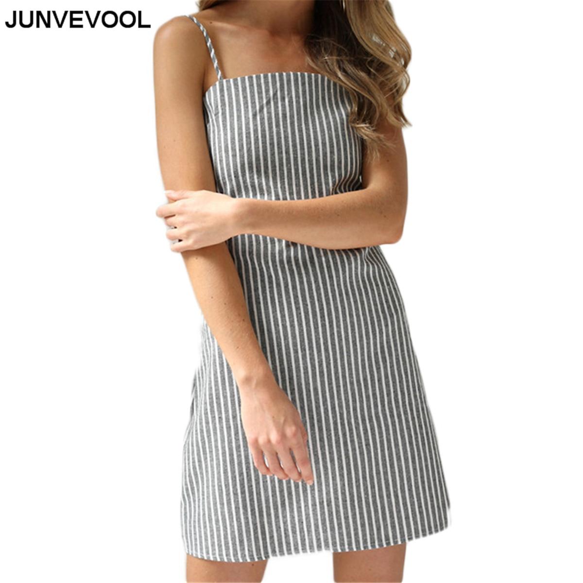 Reife Backless Heißer Verkauf Kleid Striped Splendid Bedruckt Casual ...