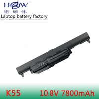 HSW 7800MAH 9cell Laptop battery For asus A45 A55 A75 K45 K55 K75 R400 R500 R700 U57 X45 X55 X75 Series,A32 K55 A41 K55 bateria