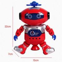 Electronic Walking Dancing Smart Space Robot Astronaut Kids Music Light Toys