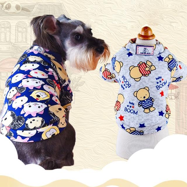 Historieta linda Del Animal Doméstico Del Gato Del Perro camisa de ...