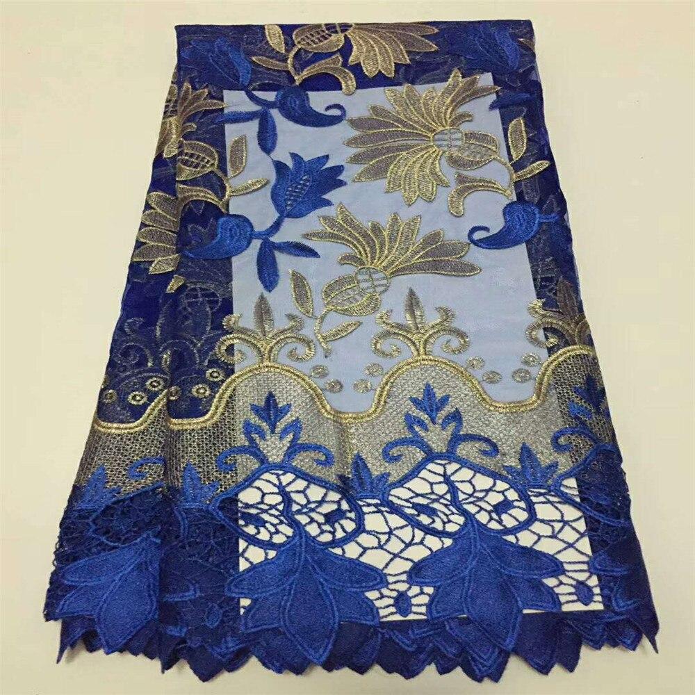 아프리카 레이스 Fabric 2018 (High) 저 (Quality 5 yards 레이스 튈 레이스 Fabric 아프리카 French 순 레이스 Fabric 대 한 Eveing Dress h556 1-에서레이스부터 홈 & 가든 의  그룹 1